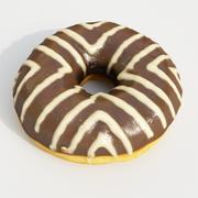 Donut3 Schoko 3d model