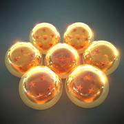 Dragon Balls 3d model