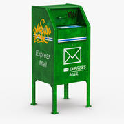 Mailbox 3 3d model