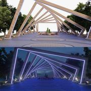 Park Arch 3d model