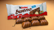 KinderBueno Bar 3D Model 3d model
