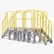 Escaliers Industriels 3d model