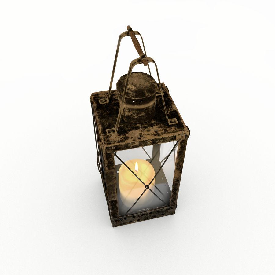 Lantern royalty-free 3d model - Preview no. 2
