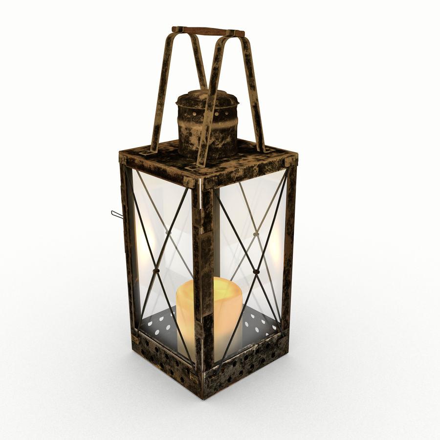 Lantern royalty-free 3d model - Preview no. 1