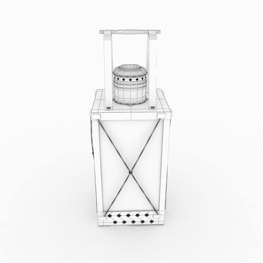 Lantern royalty-free 3d model - Preview no. 11