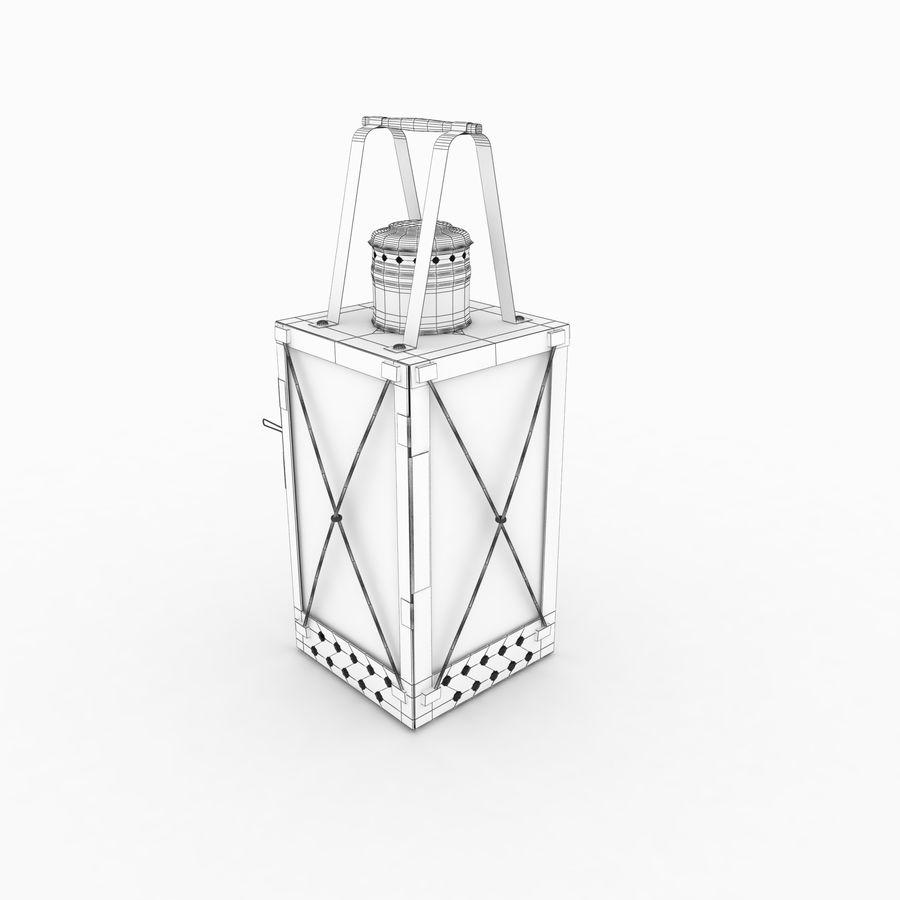Lantern royalty-free 3d model - Preview no. 9