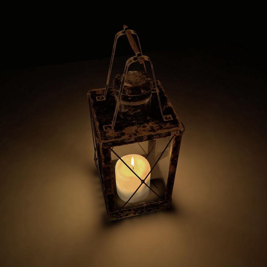 Lantern royalty-free 3d model - Preview no. 6