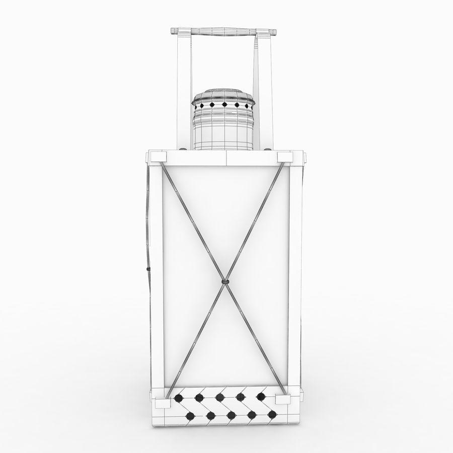 Lantern royalty-free 3d model - Preview no. 12