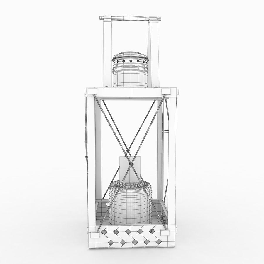 Lantern royalty-free 3d model - Preview no. 13