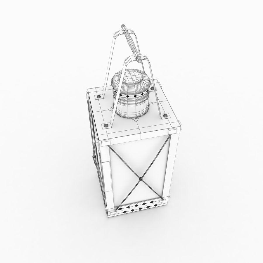 Lantern royalty-free 3d model - Preview no. 10