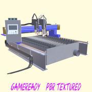 Plasma or laser cutter 3d model