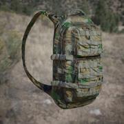 Army Backpack 3D Model (Jungle, Desert, Urban camo) 3d model