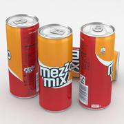 Beverage Can Mezzo Mix 330ml Tall 3d model