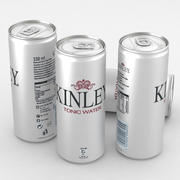 Beverage Can Kinley 330ml Tall 3d model