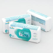 Pampers Aqua Pure Lingettes 48pcs 3d model