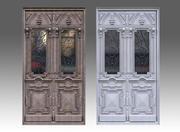 Classic Woden Door 3d model