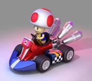 Toad van Mario Kart - Nintendo 3d model