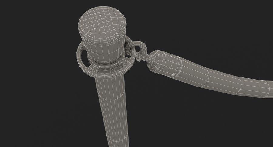 支柱とロープ royalty-free 3d model - Preview no. 38