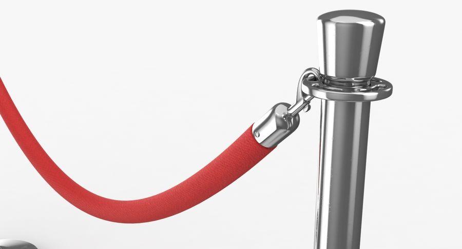 支柱とロープ royalty-free 3d model - Preview no. 8