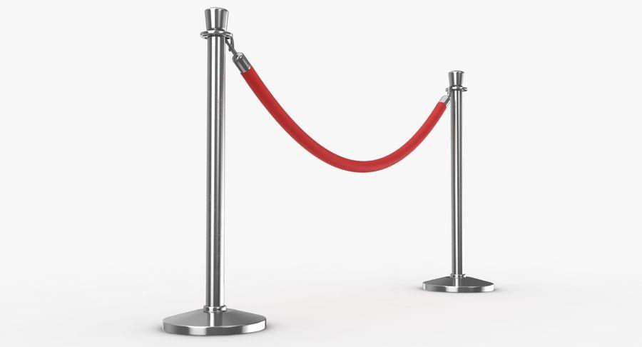 支柱とロープ royalty-free 3d model - Preview no. 18