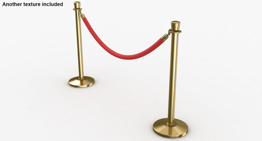 支柱とロープ royalty-free 3d model - Preview no. 5