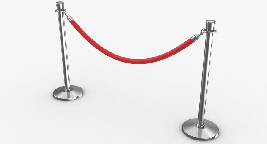 支柱とロープ royalty-free 3d model - Preview no. 12
