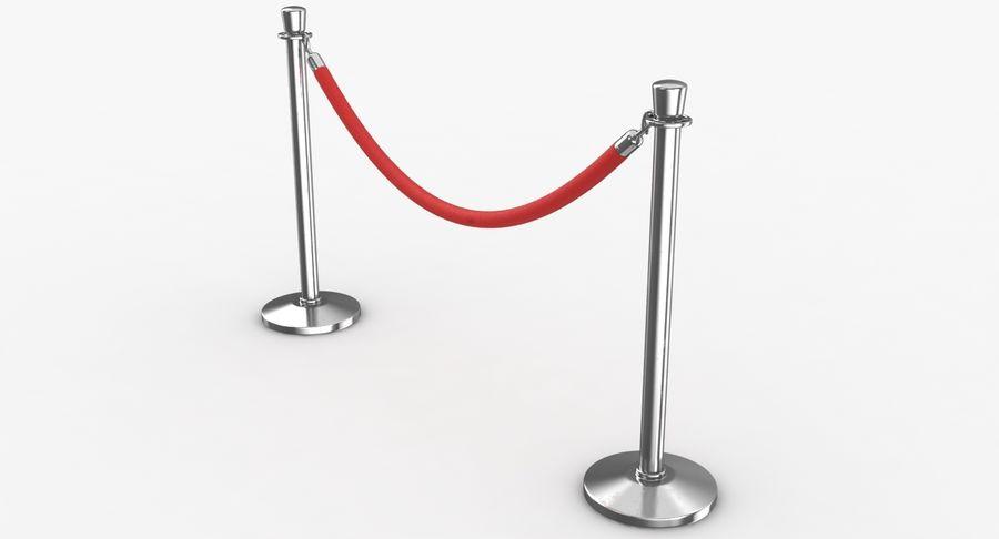 支柱とロープ royalty-free 3d model - Preview no. 3
