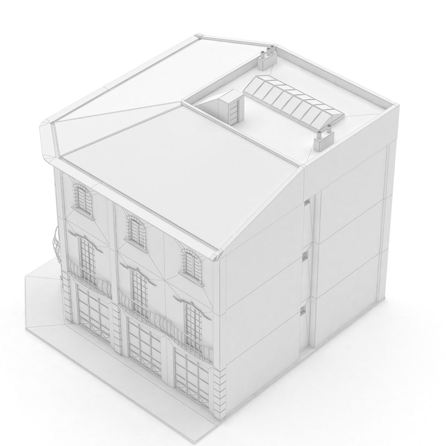 Şehir Yapısı royalty-free 3d model - Preview no. 10