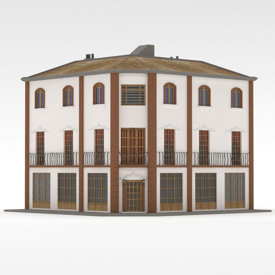 Şehir Yapısı royalty-free 3d model - Preview no. 3