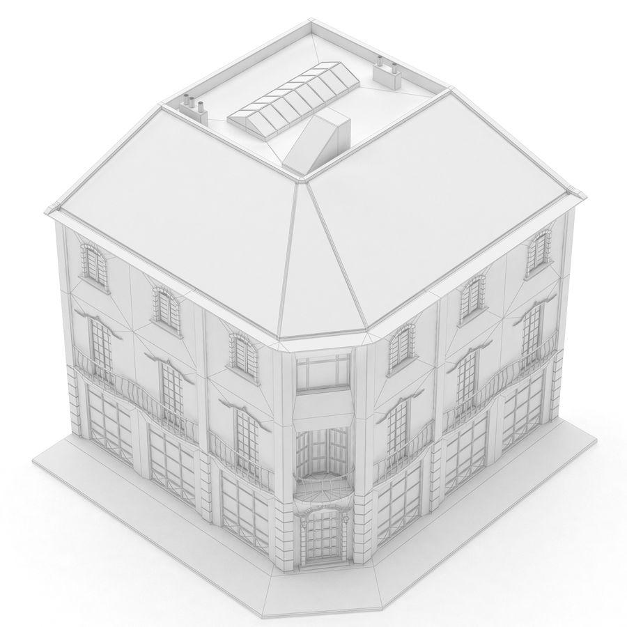 Şehir Yapısı royalty-free 3d model - Preview no. 8