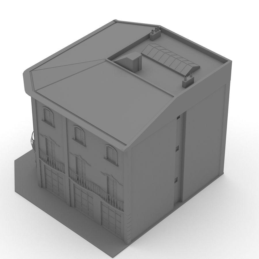 Şehir Yapısı royalty-free 3d model - Preview no. 9