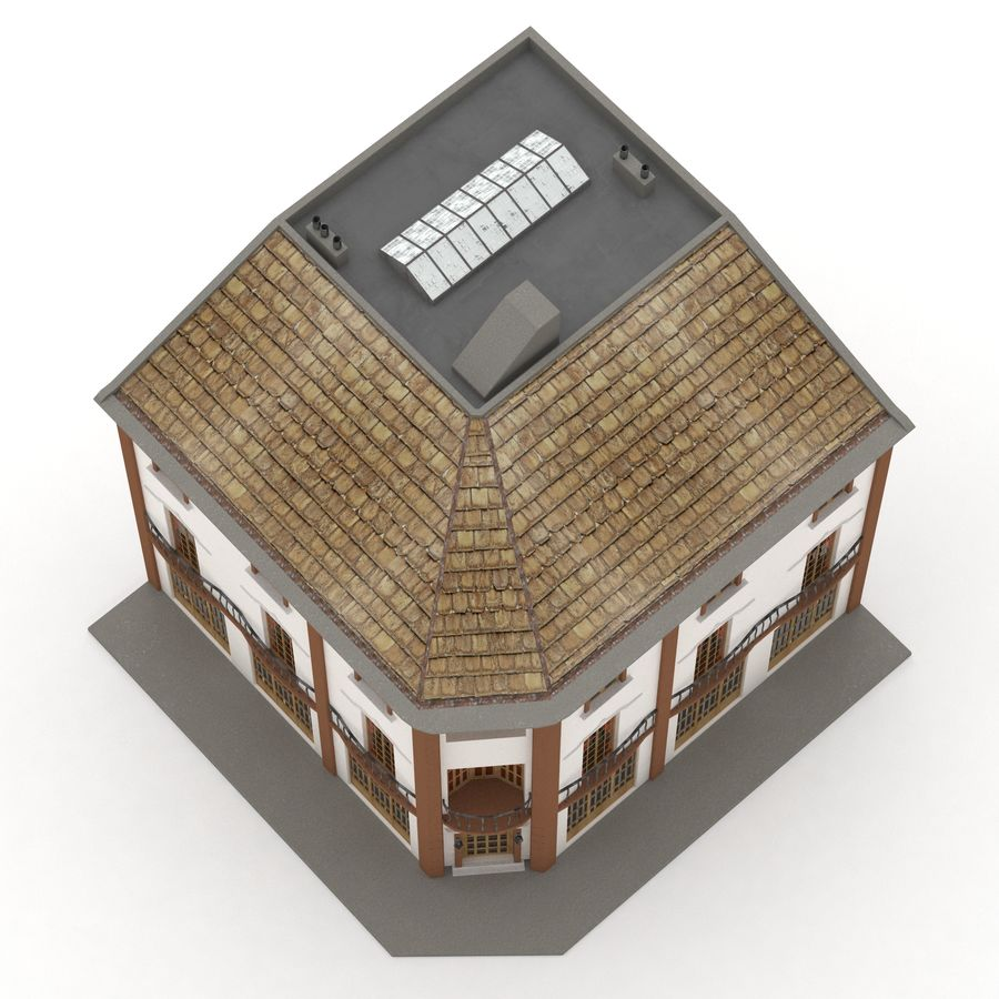 Şehir Yapısı royalty-free 3d model - Preview no. 2