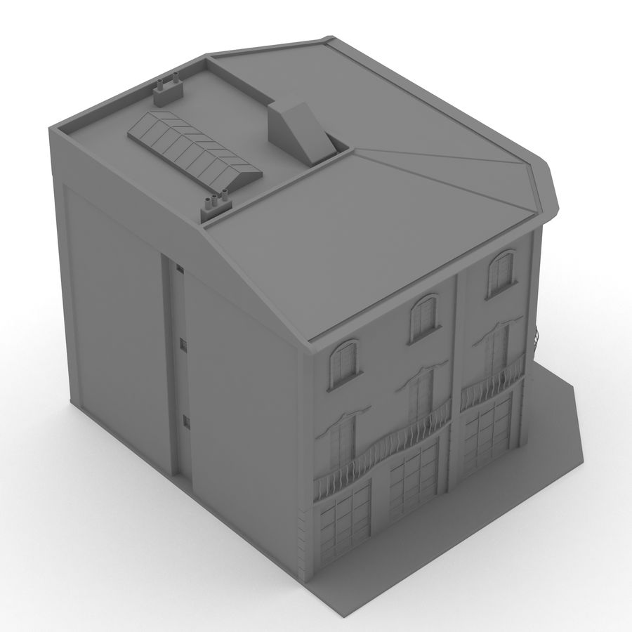 Şehir Yapısı royalty-free 3d model - Preview no. 11
