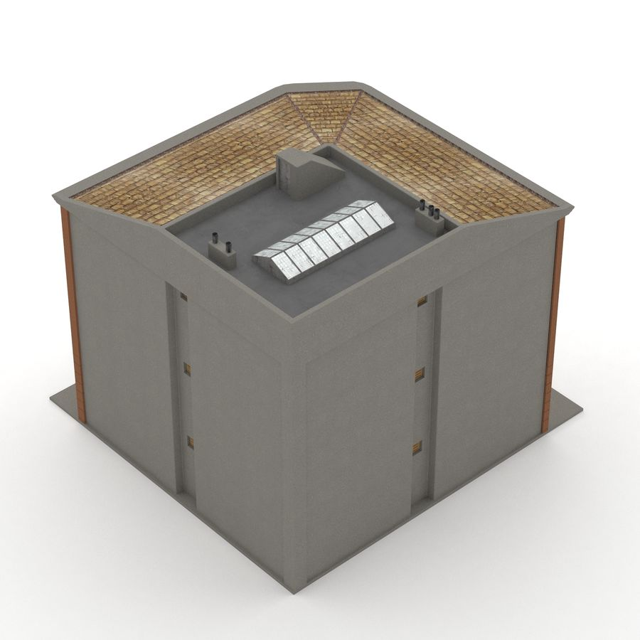 Şehir Yapısı royalty-free 3d model - Preview no. 6