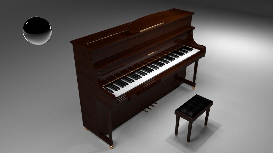 ピアノ royalty-free 3d model - Preview no. 11