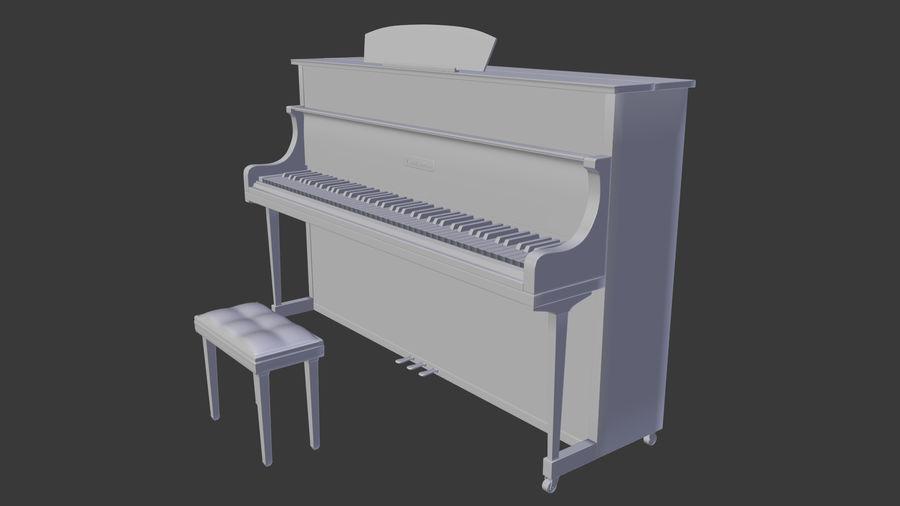 ピアノ royalty-free 3d model - Preview no. 4
