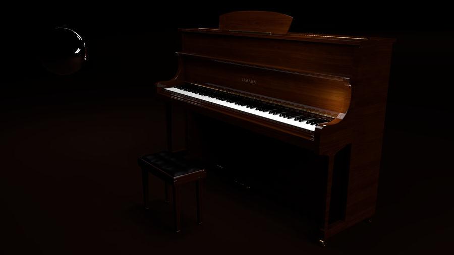 ピアノ royalty-free 3d model - Preview no. 1