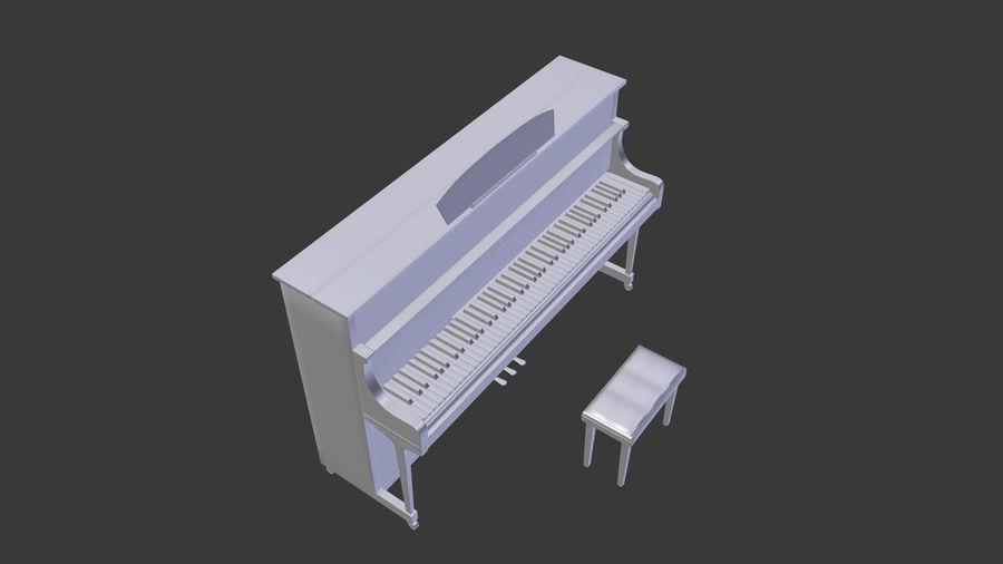 ピアノ royalty-free 3d model - Preview no. 6