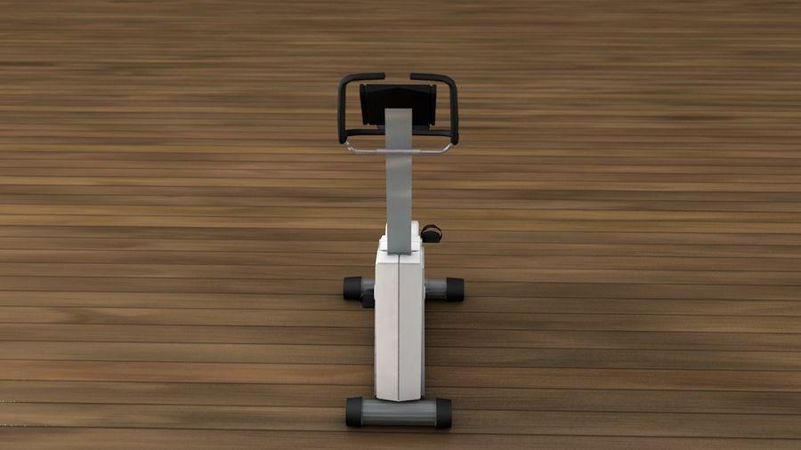 Esercizio interno palestra bicicletta royalty-free 3d model - Preview no. 4