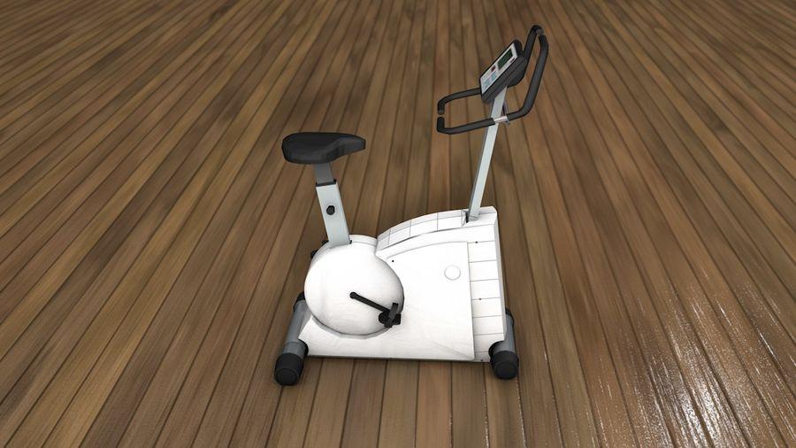 Esercizio interno palestra bicicletta royalty-free 3d model - Preview no. 5