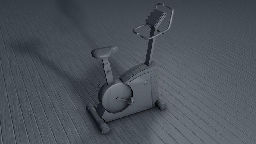 Esercizio interno palestra bicicletta royalty-free 3d model - Preview no. 6