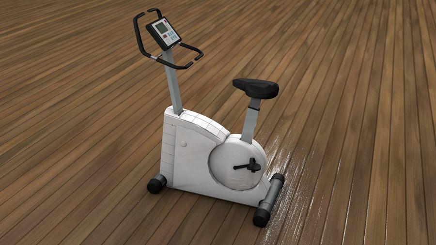 Esercizio interno palestra bicicletta royalty-free 3d model - Preview no. 3