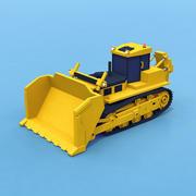 Zware bulldozer 3d model