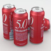 Beer Can 5,0 Original 500ml 3d model