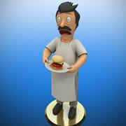 Bob Belcher (3dprint) 3d model