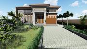 シンプルホーム 3d model