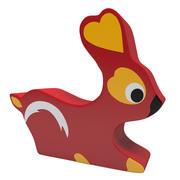 Игрушка в форме кролика 3d model