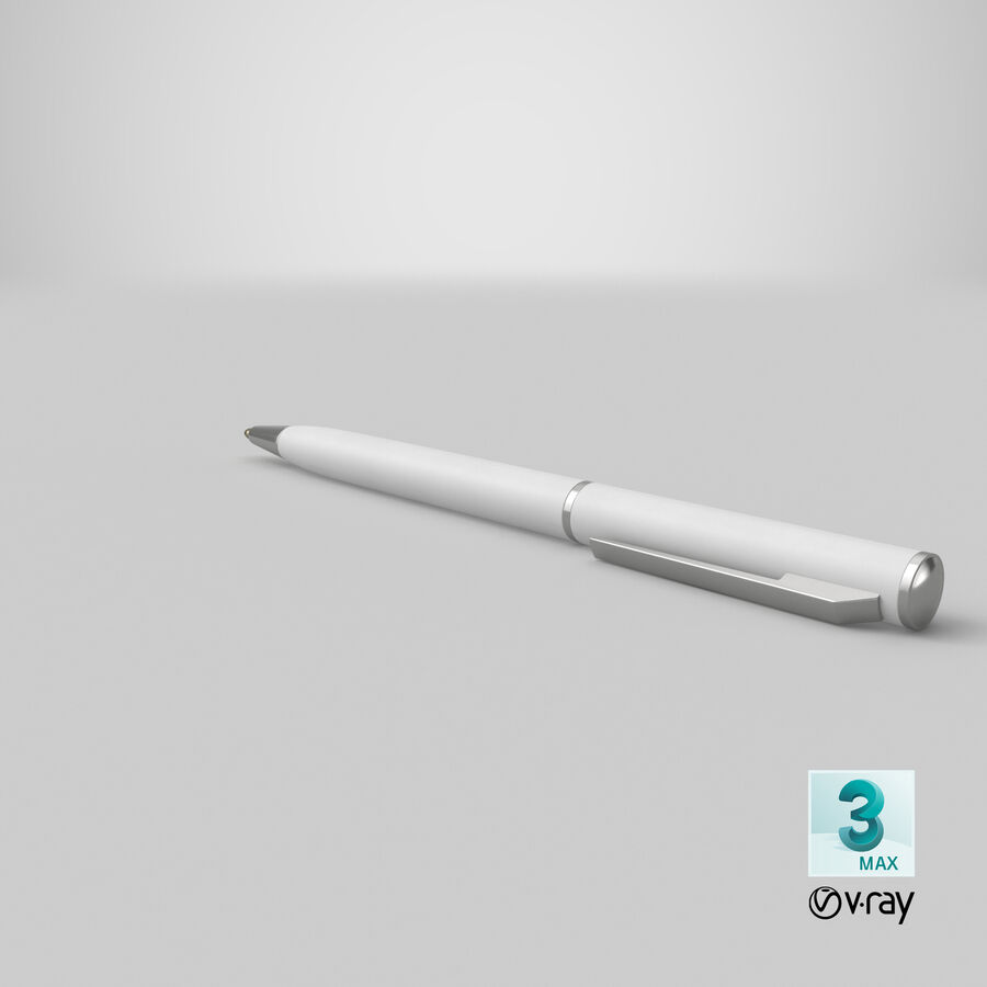 Promotional Ink Pen Mockup 01 01 royalty-free 3d model - Preview no. 22