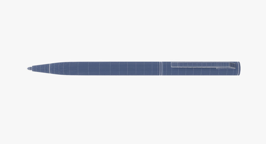 Promotional Ink Pen Mockup 01 01 royalty-free 3d model - Preview no. 11