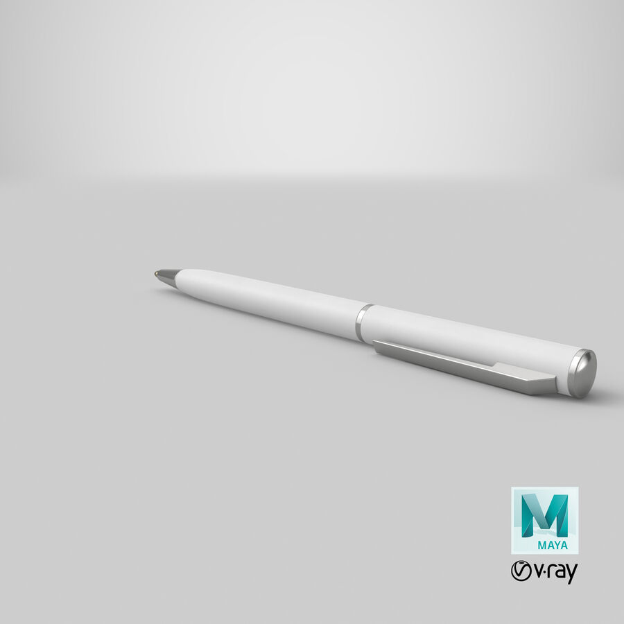 Promotional Ink Pen Mockup 01 01 royalty-free 3d model - Preview no. 20